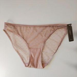 J. Crew Pink Pointe D'esprit Bikini Panties